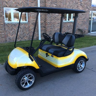 Custom Golf Car - Harris - Iowa, Wisconsin, Illinois on golf cart style vehicles, golf carts like trucks, golf cart security vehicles, golf carts all terrain vehicles,
