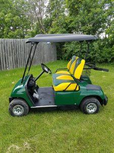 2005 Green Bay Packers Golf Car-Harris Golf Cars- Iowa, Illinois, Wisconsin, Nebraska