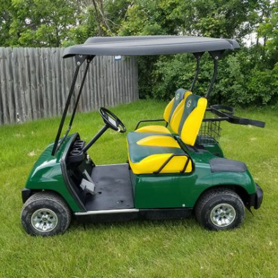 2005 Green Bay Packers Golf Car-Harris Golf Cars- Iowa, Illinois, Wisconsin, Nebraska