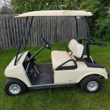 2007 Beige Club Car-Harris Golf Cars-Iowa, Illinois, Wisconsin, Nebraska