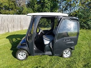 2007 Black Club Car-Harris Golf Cars-Iowa, Illinois, Wisconsin, Nebraska