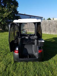 2007 Black Club Car-Harris Golf Cars-Iowa, Illinois, Wisconsin, Nebraska