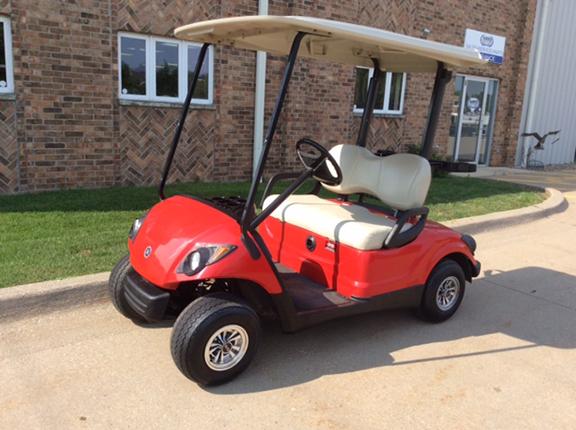 2008 Bright Red-Harris Golf Cars-Iowa, Illinois, Wisconsin, Nebraska
