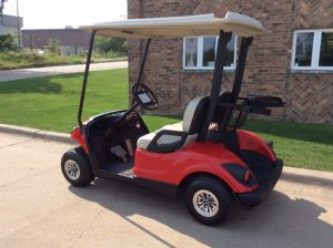2008 Bright Red-Harris Golf Cars-Iowa, Illinois, Wisconsin, Nebraska