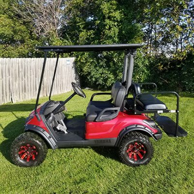 2009 Garnet Red-Harris Golf Cars-Iowa, Illinois, Wisconsin, Nebraska
