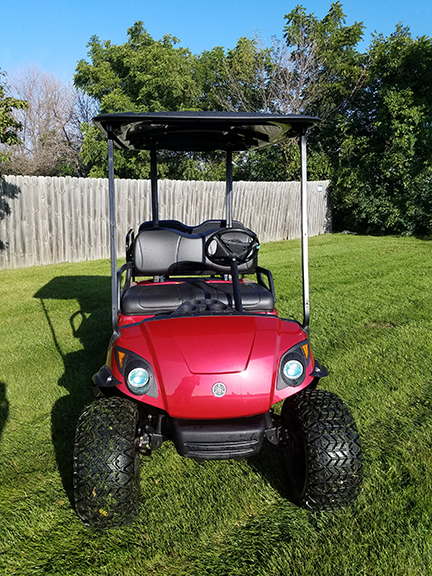 2009 Garnet Red-Harris Golf Cars-Iowa, Illinois, Wisconsin, Nebraska