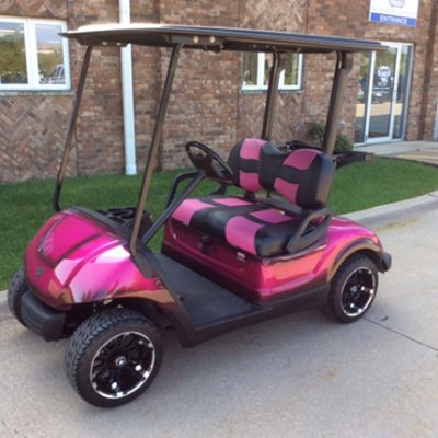 Custom Pink-Harris Golf Cars-Iowa, Illinois, Wisconsin, Nebraska