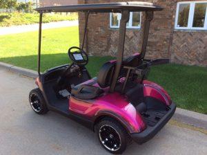 Custom Pink-Harris Golf Cars-Iowa, Illinois, Wisconsin, Nebraska