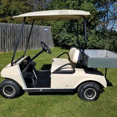 Used gas golf cars at harris golf cars 2011 club car ds golf car with cargo box sciox Images