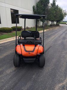 2013 Custom Orange-Harris Golf Cars-Iowa, Illinois, Wisconsin, Nebraska