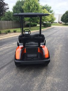 2013 Custom Orange-Harris Golf Cars-Iowa, Illinois, Wisconsin, Nebraska