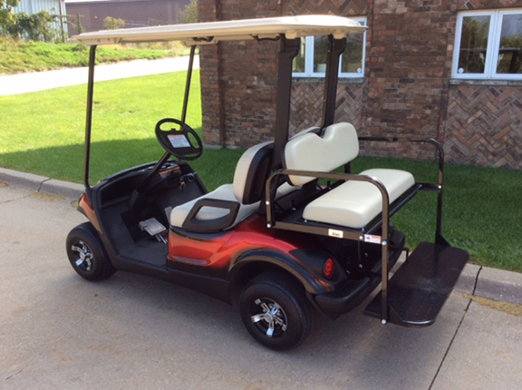 2014 Custom Red-Harris Golf Cars-Iowa, Illinois, Wisconsin, Nebraska