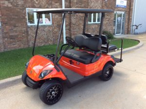 Custom Red Flame-Harris Golf Cars-Iowa, Illinois, Wisconsin, Nebraska