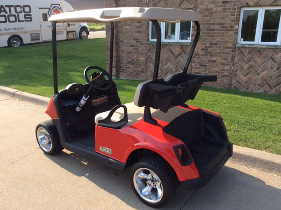 2018 Red Freedom-Harris Golf Cars-Iowa, Illinois, Wisconsin, Nebraska