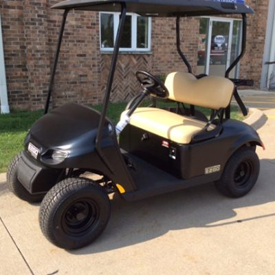 2018 Black EZGO-Harris Golf Cars-Iowa, Illinois, Wisconsin, Nebraska