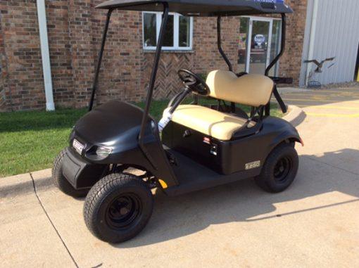 2018 Black EZGO-Harris Golf Cars-Iowa, Illinois, Wisconsin, Nebraska