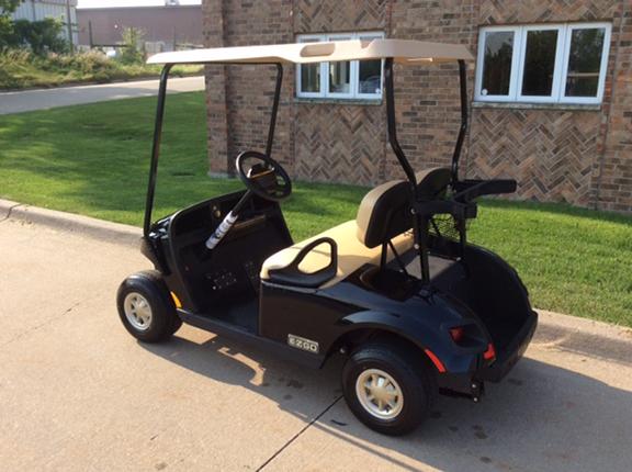 2018 Black Gloss-Harris Golf Cars-Iowa, Illinois, Wisconsin, Nebraska