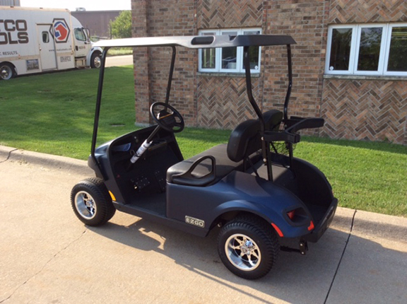 2018 E-Z-Go Blue Freedom-Harris Golf Cars-Iowa, Illinois, Wisconsin, Nebraska