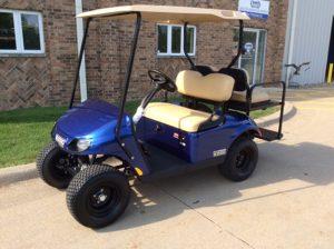 2018 E-Z-Go Larimar Blue-Harris Golf Cars-Iowa, Illinois, Wisconsin, Nebraska