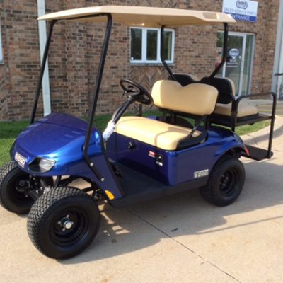 2018 E-Z-Go Larimar Blue-Harris Golf Cars-Iowa, Illinois, Wisconsin, Nebraska
