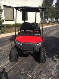 2013 Custom Red-Harris Golf Cars-Iowa, Illinois, Wisconsin, Nebraska