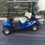 2014 Custom Blue-Harris Golf Cars-Iowa, Illinois, Wisconsin, Nebraska