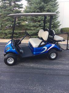 2014 Custom Blue-Harris Golf Cars-Iowa, Illinois, Wisconsin, Nebraska
