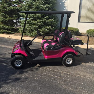 2014 Custom Pink-Harris Golf Cars-Iowa, Illinois, Wisconsin, Nebraska