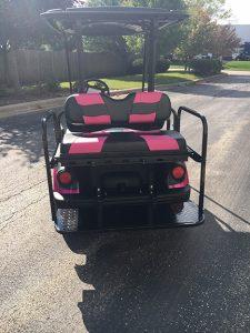 2014 Custom Pink-Harris Golf Cars-Iowa, Illinois, Wisconsin, Nebraska