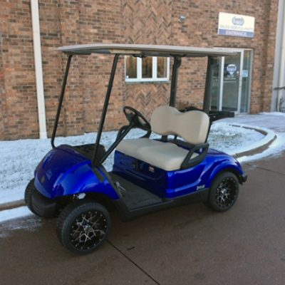 Cobalt Blue Golf Car-Harris Golf Cars-Iowa, Illinois, Wisconsin, Nebraska