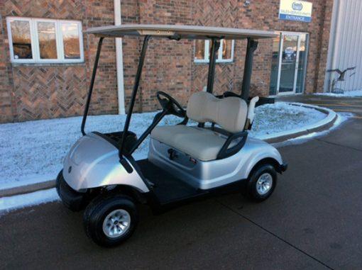 Moonstone Silver Golf Car-Harris Golf Cars-Iowa, Illinois, Wisconsin, Nebraska