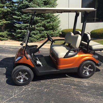 2008 Atomic Orange-Harris Golf Cars-Iowa, Illinois, Wisconsin, Nebraska
