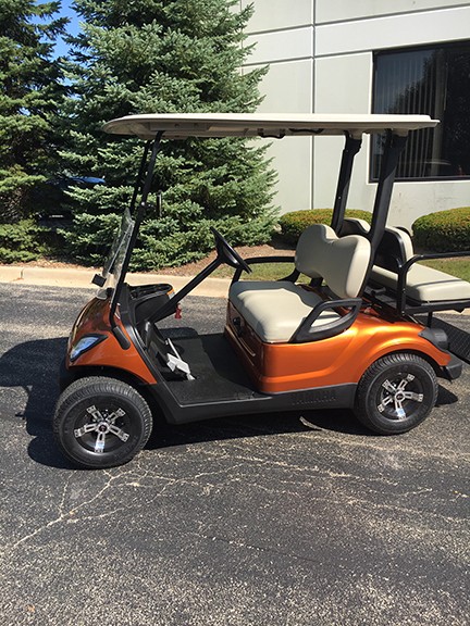 2008 Atomic Orange-Harris Golf Cars-Iowa, Illinois, Wisconsin, Nebraska