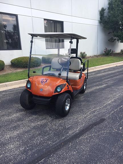 2011 Custom Chicago Bears-Harris Golf Cars-Iowa, Illinois, Wisconsin, Nebraska