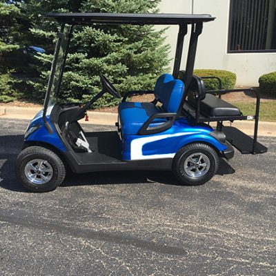 2011 Custom Blue-Harris Golf Cars-Iowa, Illinois, Wisconsin, Nebraska