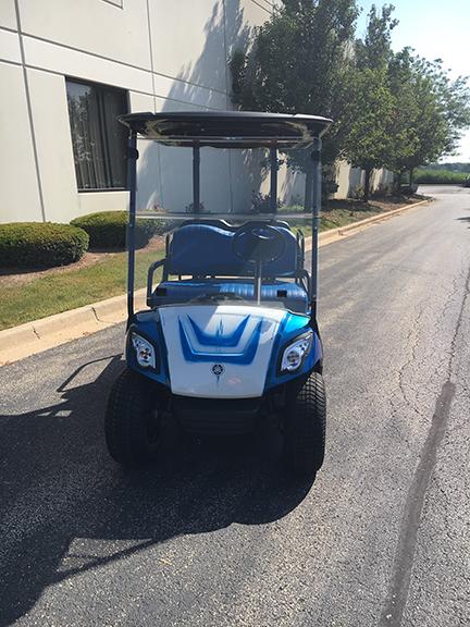 2011 Custom Blue-Harris Golf Cars-Iowa, Illinois, Wisconsin, Nebraska