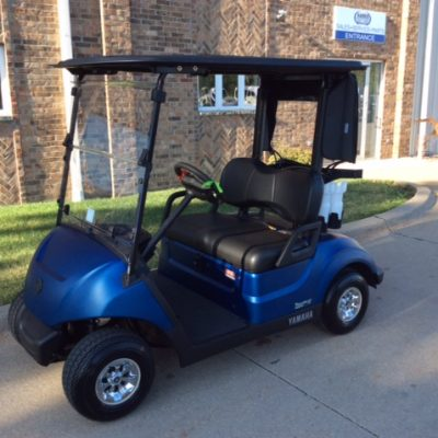 2020 Arctic Blue-Harris Golf Cars-Iowa, Illinois, Wisconsin, Nebraska
