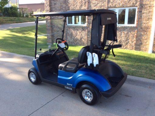 2020 Arctic Blue-Harris Golf Cars-Iowa, Illinois, Wisconsin, Nebraska