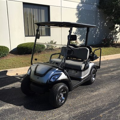 2010 Custom Silver and Black 4-Passenger Golf Car