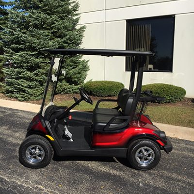 2011 Custom Red Electric Golf Car
