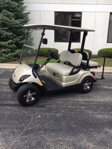 2013 Sandstone 4-Passenger Electric Golf Car