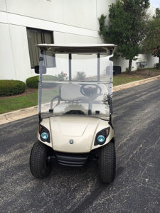 2013 Sandstone 4-Passenger Electric Golf Car
