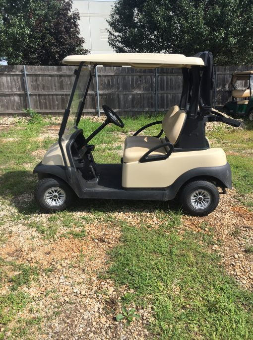 2017 Club Car Precedent with New Batteries