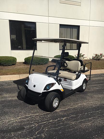 Yamaha 4-Passenger PTV Golf Car
