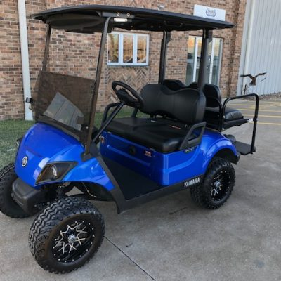 2018 Aqua Blue Golf Car