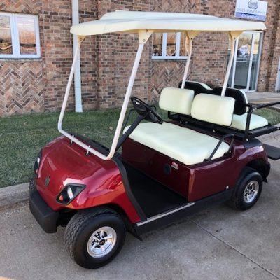 2006 Red Metallic Golf Car