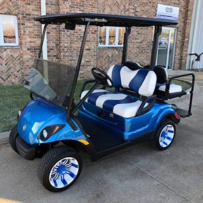 2007 Larimar Blue Golf Car