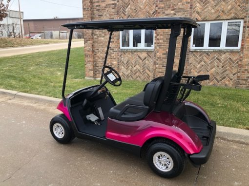 2012 Custom Pink Golf Car