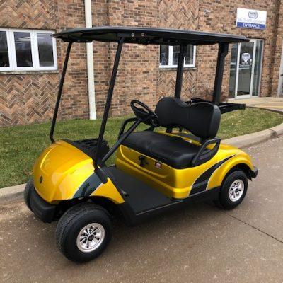 2012 Custom Yellow and Black Golf Car