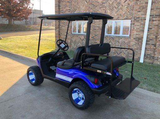 2015 Custom Blue Golf Car